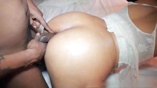 Black MILF ass fucked