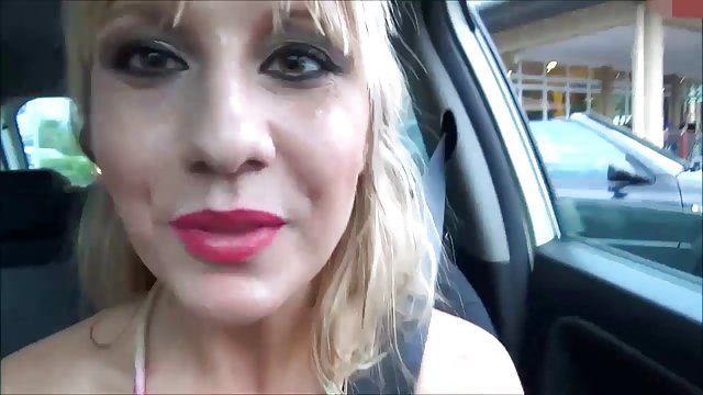 Lena-Loch - McDonalds Drive-In Spermawalk   Jizz-Tube.com