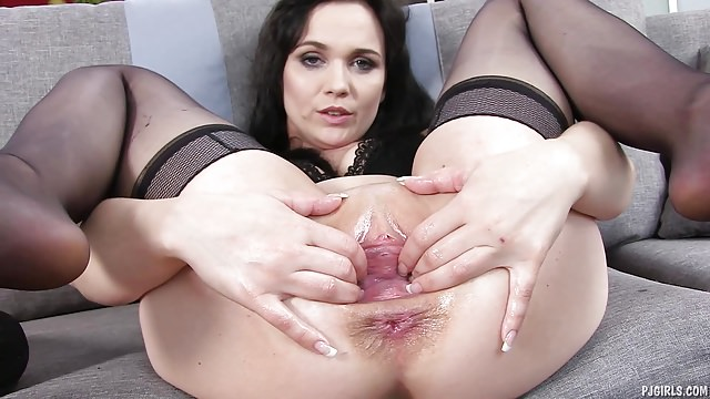 Pregnant Ally Style Anal
