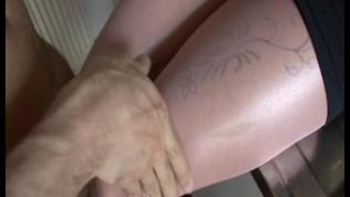 2010 Pink pantyhose encasement suck and fuck
